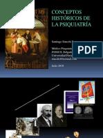 Conceptos históricos de la psiquiatría