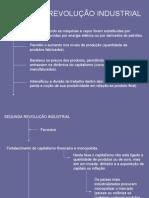 História Geral PPT - Segunda Revolução Industrial