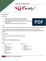 Chemistry Tutor Job Description[1]