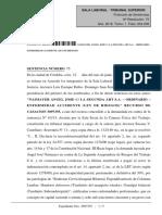 2018.06.12 - TSJ - Silencio - Solo Considera Aceptada Las Prest. en Especie y de ILT - Imp. - Naimayer c. La Segunda (1)