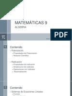 Matemáticas 9 1