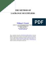 Trench-The Lagrange Method.PDF