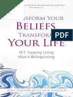Karl Dawson and Kate Marillat--Transforma Tus Creencias Con Reimpronta EFT Matrix