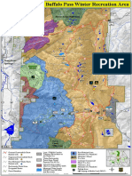 Routt National Forest Winter Recreation Map 2019