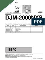Pioneer Djm-2000nxs Rrv4391 Dj-mixer
