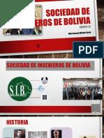 Sociedad de Ingenieros de Bolivia [Autoguardado]