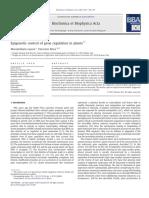 Epigenetic Control of Gene Regulation in Plants