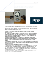 Bird Model 43 RF Directional Thruline Wattmeter Review by ZS1JHG