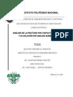 Análisis de La Fractura Por Contacto Mecánico