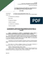 Ley N° 29038, Ley que incorpora la Unidad de Inteligencia Financiera del Perú (UIF-PERÚ) a la SBS (Versión concordada).docx