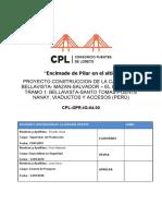 CPL GPR IG 04.00 Encimado de Pilares