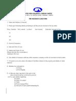 SFSPP Claim Form