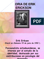 Teoría psicosocial de Erik Erickson