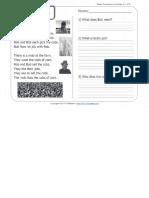 A Job for Bob _ 1st Grade Reading Comprehension Worksheet Wk 11