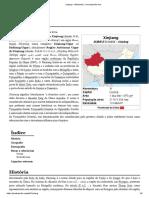 Xinjiang – Wikipédia, A Enciclopédia Livre