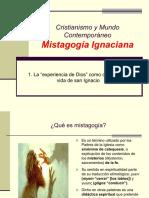 """1. La """"Experiencia de Dios"""" Como Centro de La Vida de San Ignacio"""