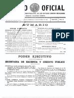 (1935) DOF 1935-10-30 Conserjo Nacional de la Educación Superior y la Investigación Científica