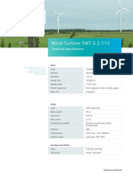 Data Sheet Wind Turbine Swt 3.2 113