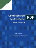 Manual de Assistencia Seguro Residencial Versao 01 2019 Compras Pela Internet