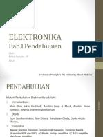 ELEKTRONIKA- 1