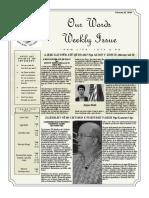 Newsletter Volume 10 Issue 07