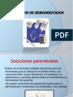 Transfucion de Hemoderivados