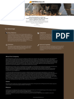 One Page Web Design for Vertex Buildsworth
