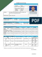 Cv Adi Saputra Att III