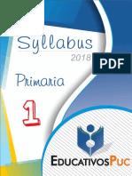 Sylabus Primaria Puc (1ro - 5to )