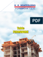 Table Form Work