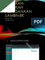 Langkah Pelaksanaan Uambn-bk 2019