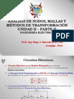 Unidad II - Analisis y Conversion de Circuitos Electricos UCSM