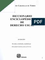 Diccionario Enciclopedico de Derecho Usual -  Cabanellas Tomo 2- eDICION 30.PDF