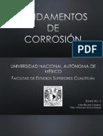 Fundamentos de Corrosión