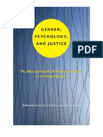 Gender Psychology and Justice the Mental Health of Women and Girls in the Legal System