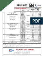 Price List Servvo 2018 Logo Jkm