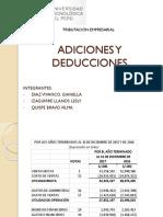 Adiciones y Deducciones Final