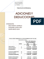Adiciones y Deducciones Final