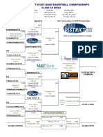 Updated PIAA District-III 2019 Girls Class 6A brackets