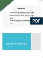 Storyboard WorkshopMultiMedia 2019