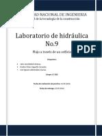 Laboratorio de Hidraulica No.9