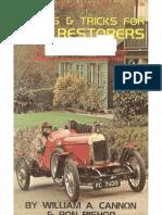 101 Tips & Tricks For Car Restorers