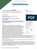 La Sobredentadura, Una Opción Válida en Estomatología