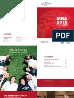 CEIBS Mba Brochure