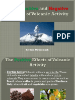 The Positive and Negative Effects of Volcanic Activity by Sam Mccormack
