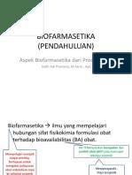 BIOFARMASETIKA (pendahuluan)-1