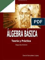 Álgebra Básica - David Gonzáles López - 2da Edición.pdf