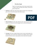 Pola Aliran Sungai & Peranan Perairan Darat Dalam Kehidupan