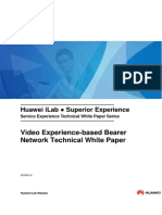 Video Experience Based Bearer Network Technical Whitepaper