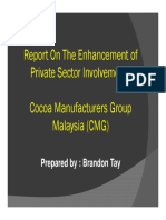 Annex 15 - Enhancement of Private Sector Involvement (CMG)